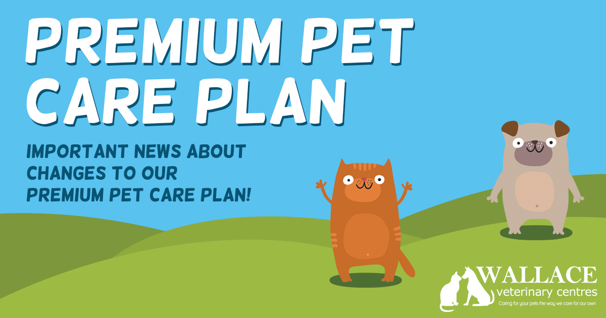 Important Changes to our Premium Pet Care Plan